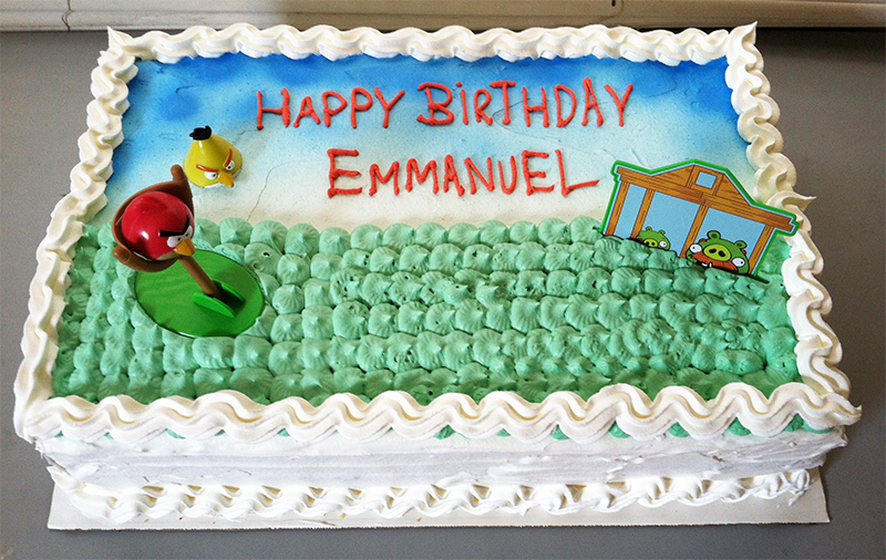 Wondrous Angry Birds Birthday Cake Sweet Tasty Bakery Funny Birthday Cards Online Sheoxdamsfinfo