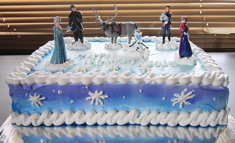 Frozen Cake Toppers Sweet Tasty Bakery