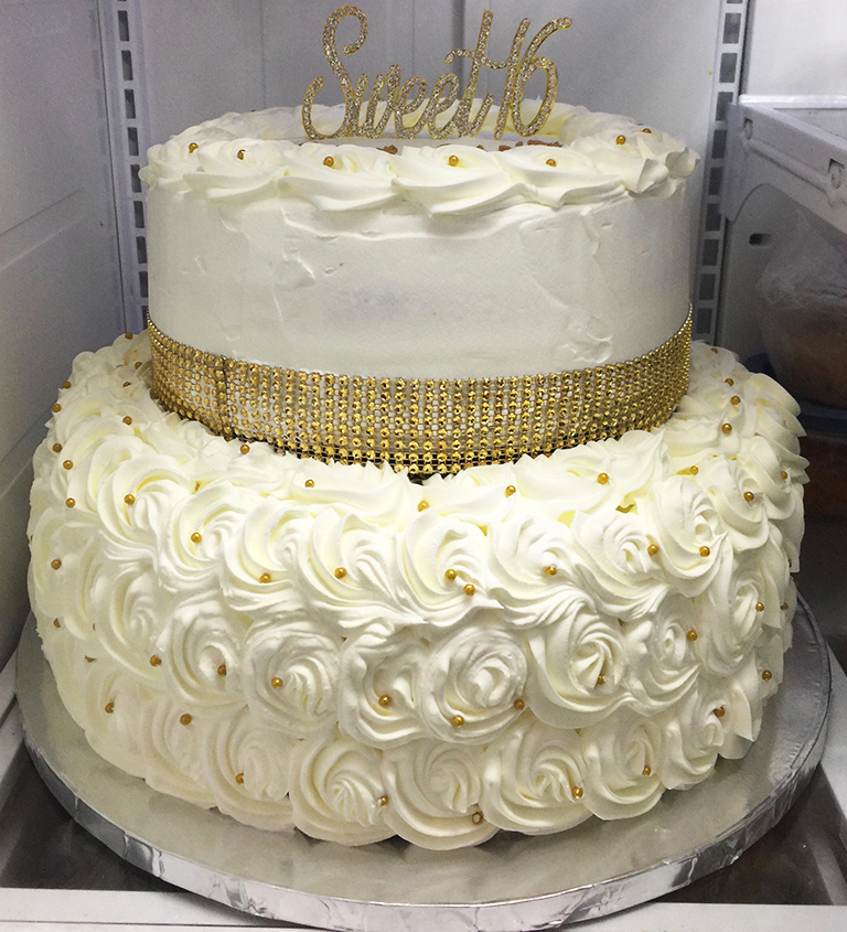 Tier Cake At Whole Foods
