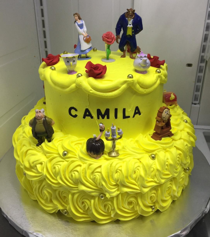 """""""Beauty & The Beast"""" Cake"""