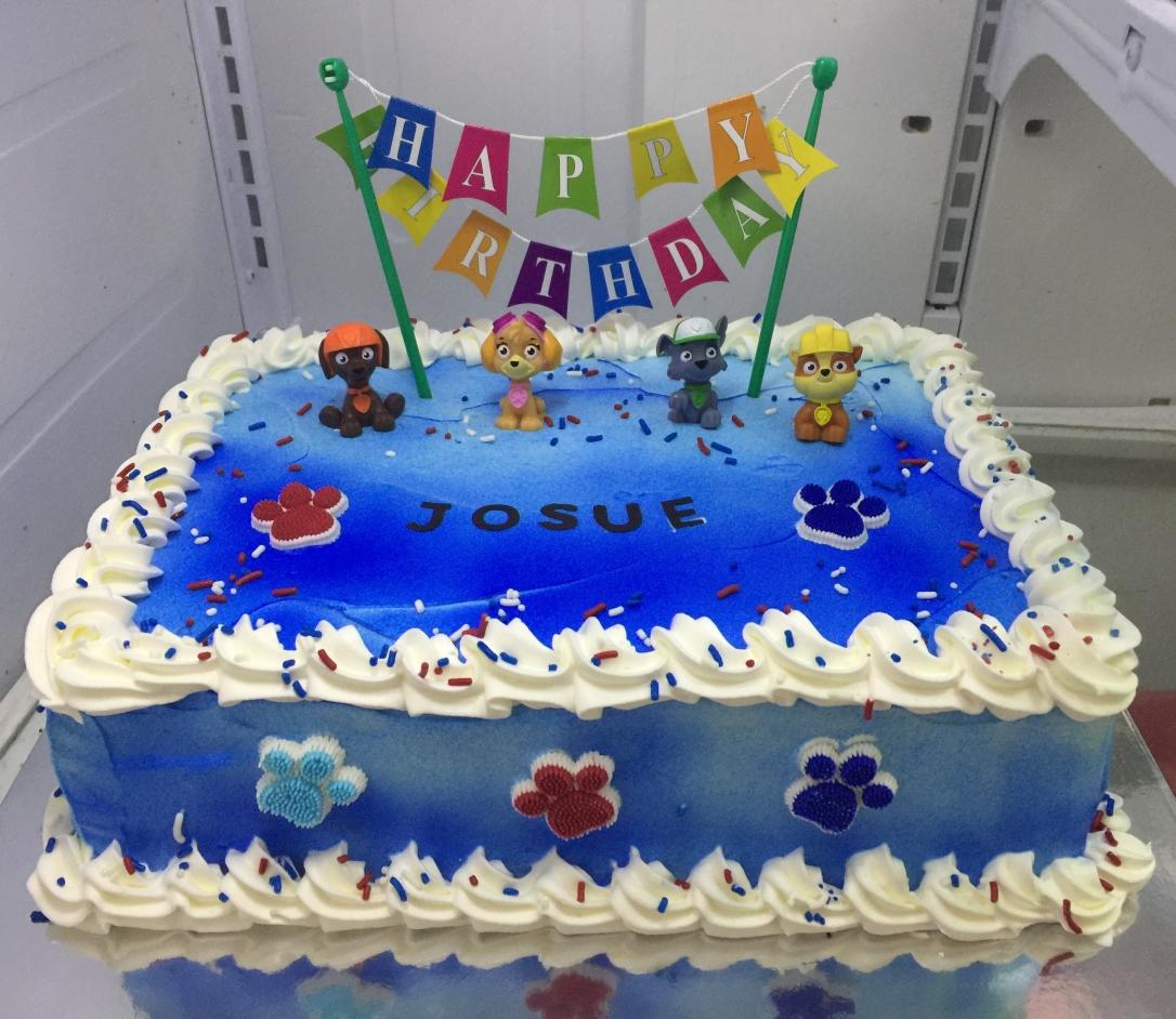 """Paw Patrol"" Birthday Cake"