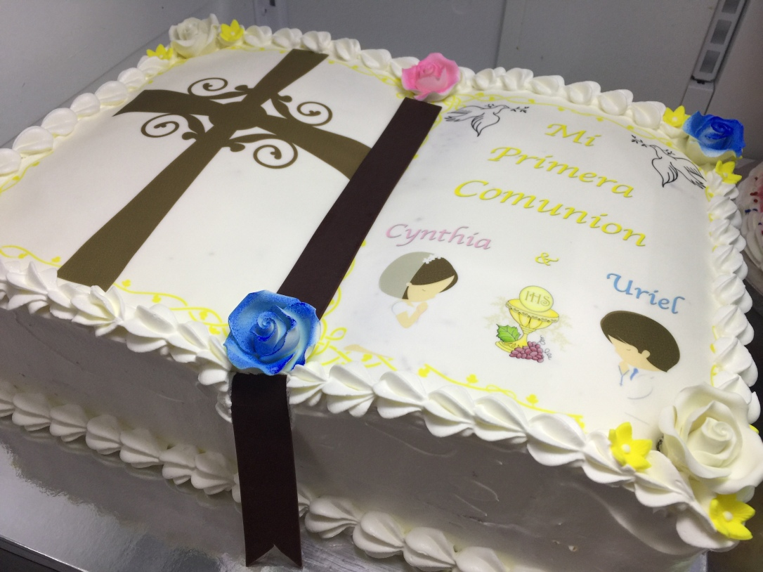 """Mi Primera Comunion"" First Communion Cake"