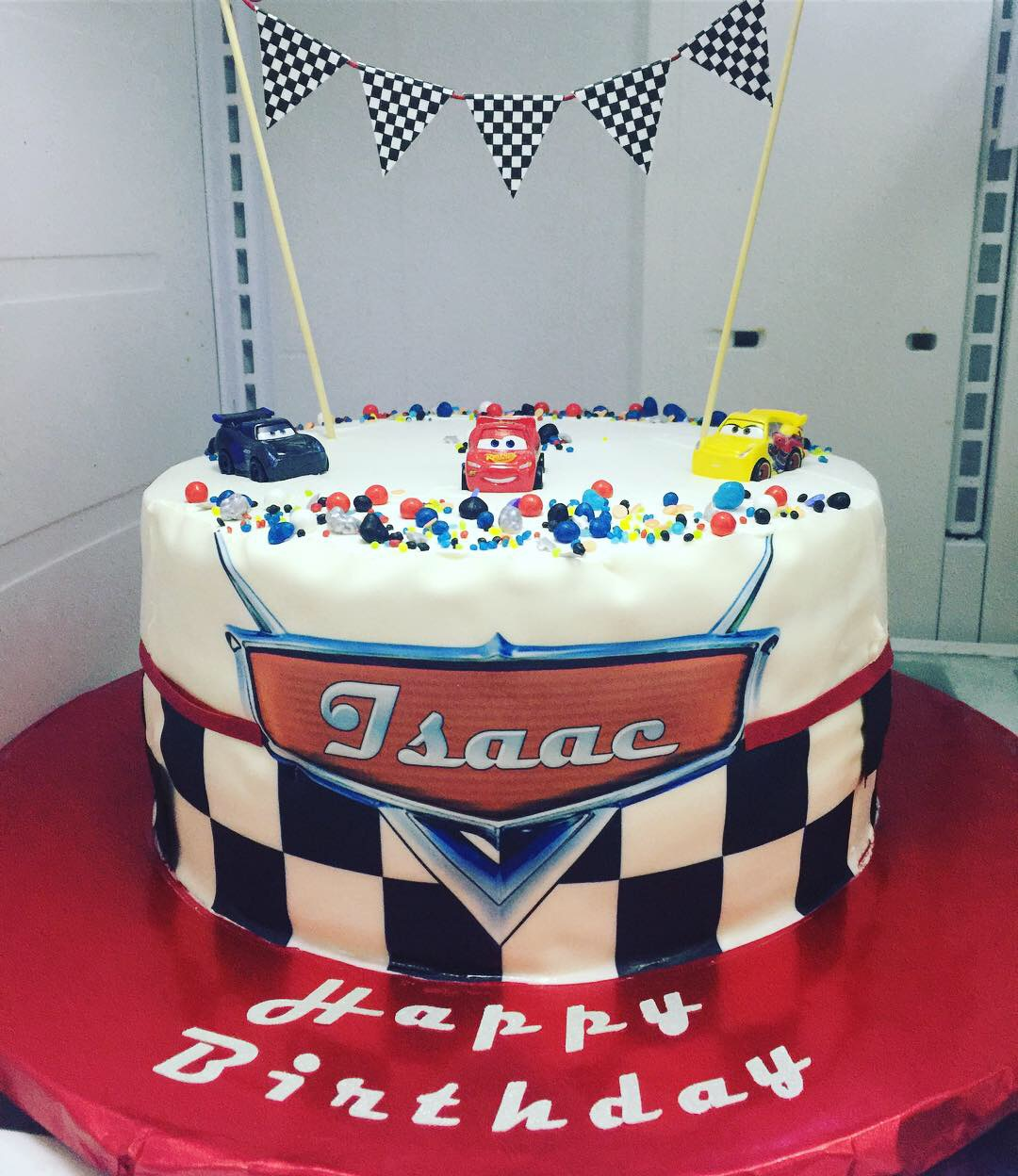 """Disney Cars"" Birthday Cake"