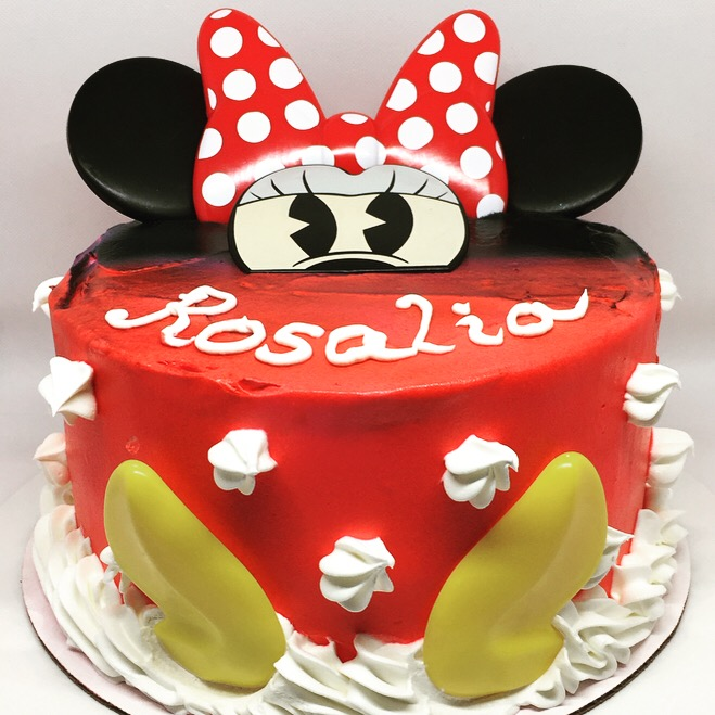 """Minnie Mouse'' Birthday Cake"