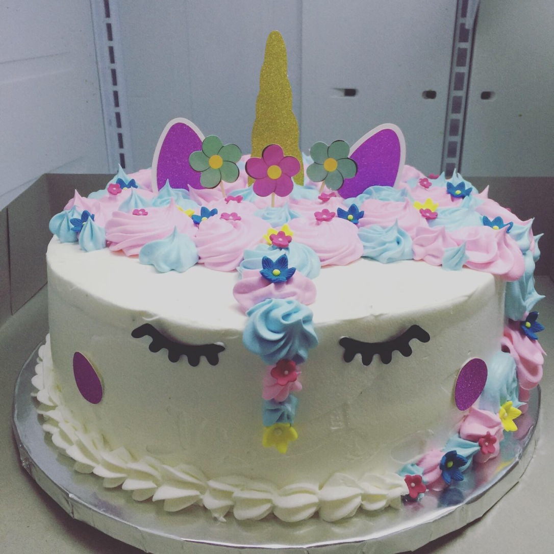 "'Unicorn"" Birthday Cake"