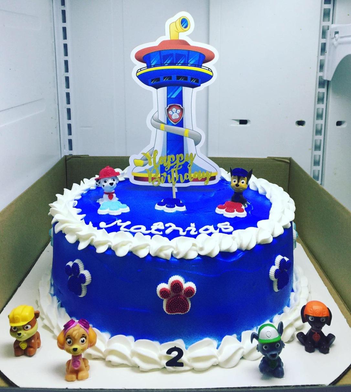 """""Paw Patrol"" Birthday Cake"