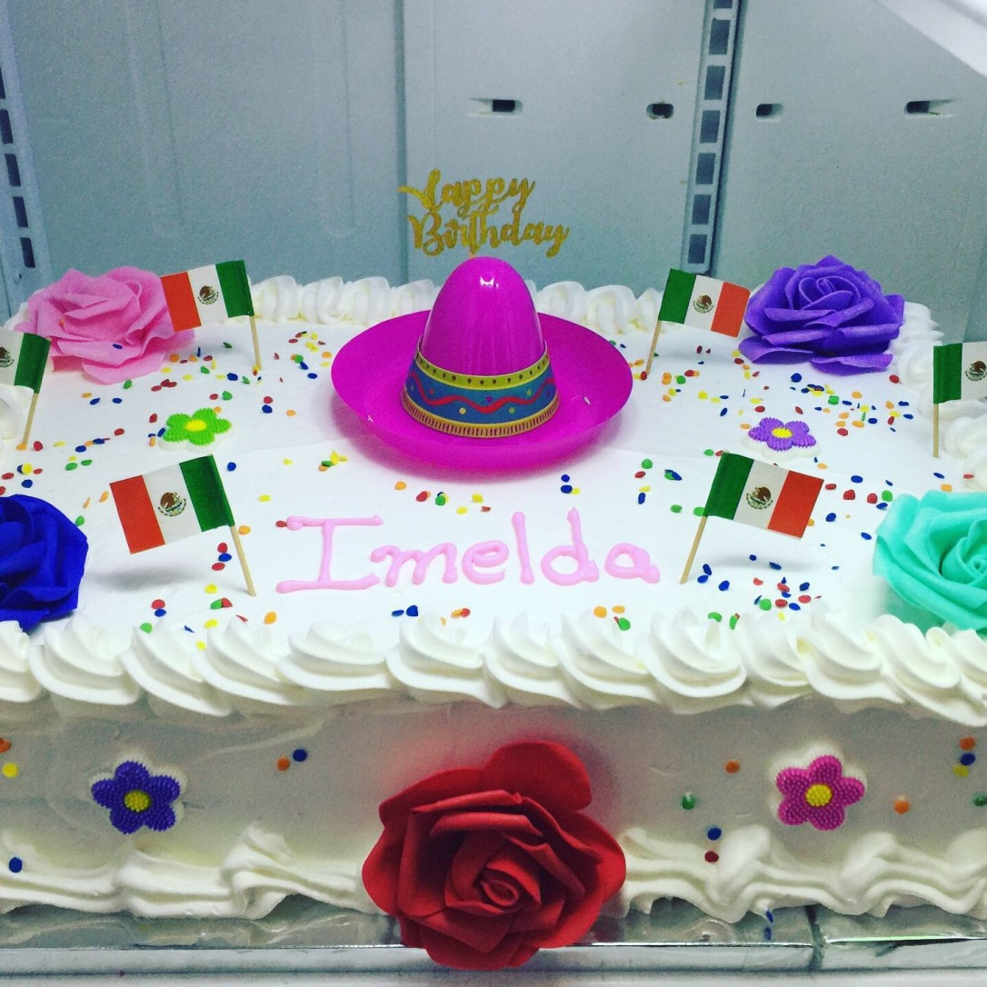 """Mexican Fiesta"" Birthday Cake"